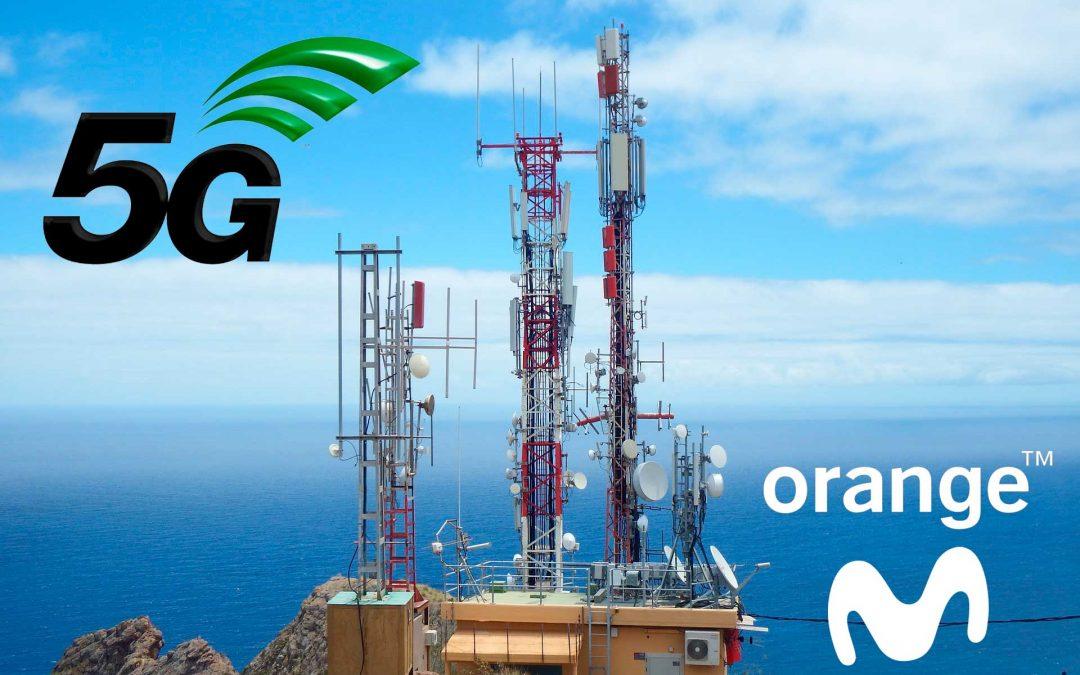 Orange y Movistar se preparan para encender su 5G este año