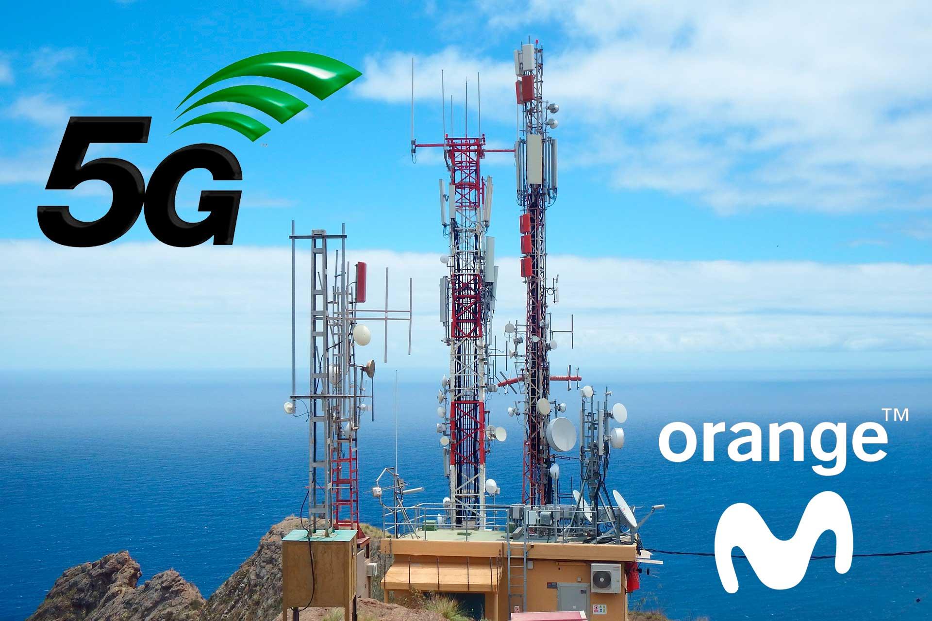 Orange Movistar 5G