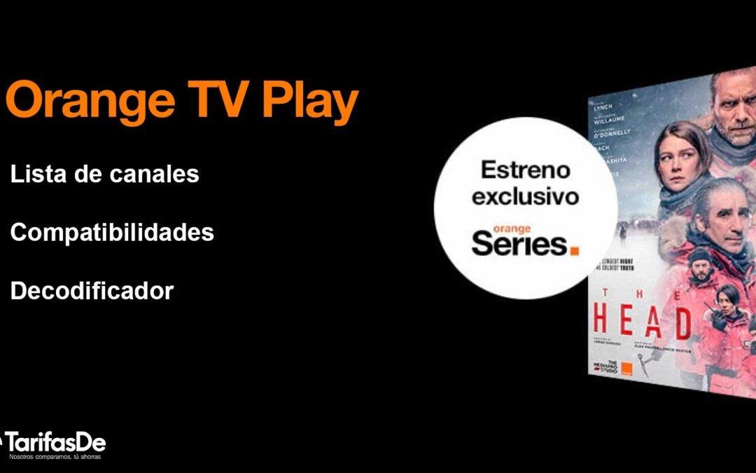 Orange TV Play: todos los canales y detalles del nuevo pack de televisión
