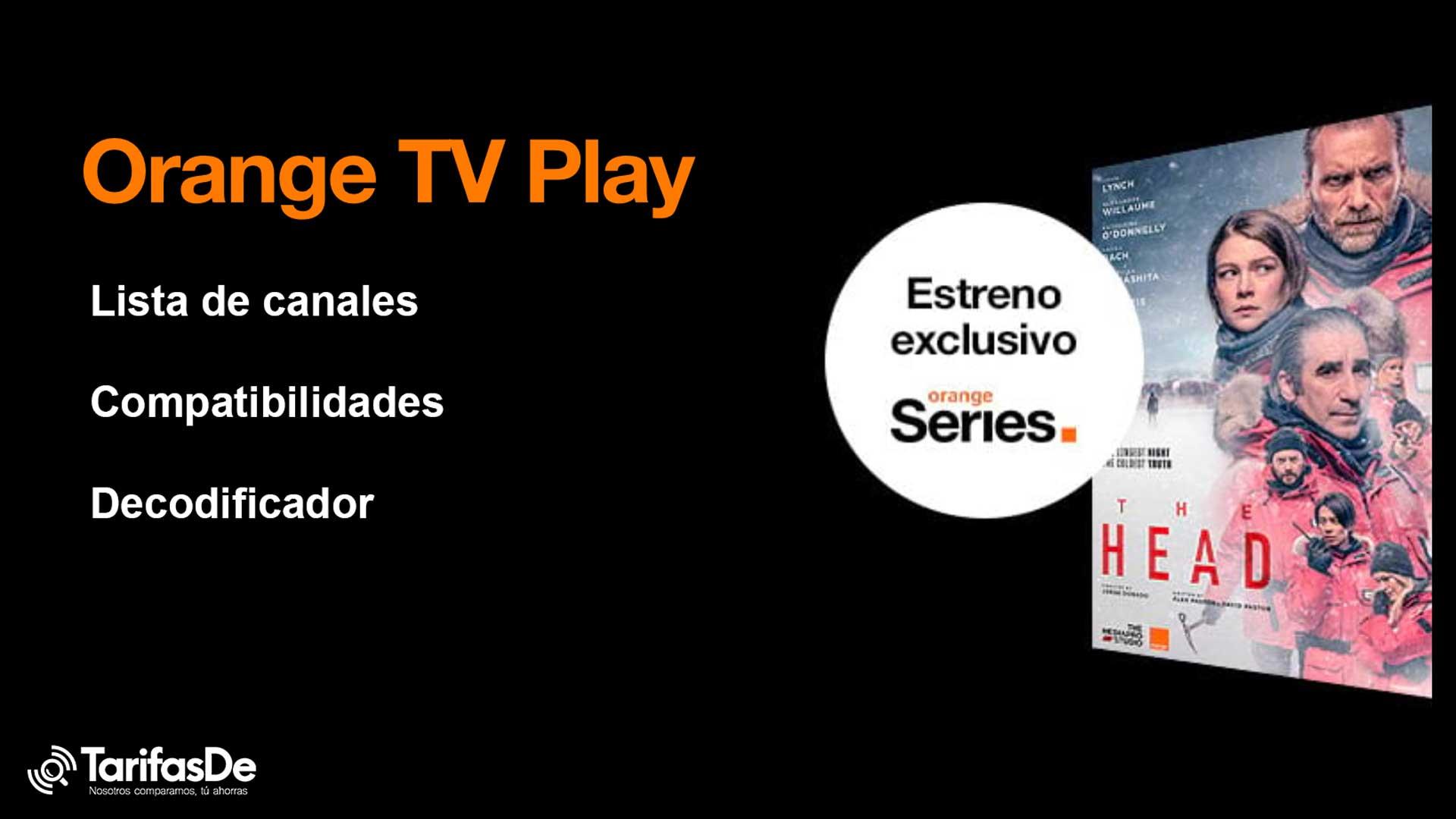 Orange TV Play canales deco
