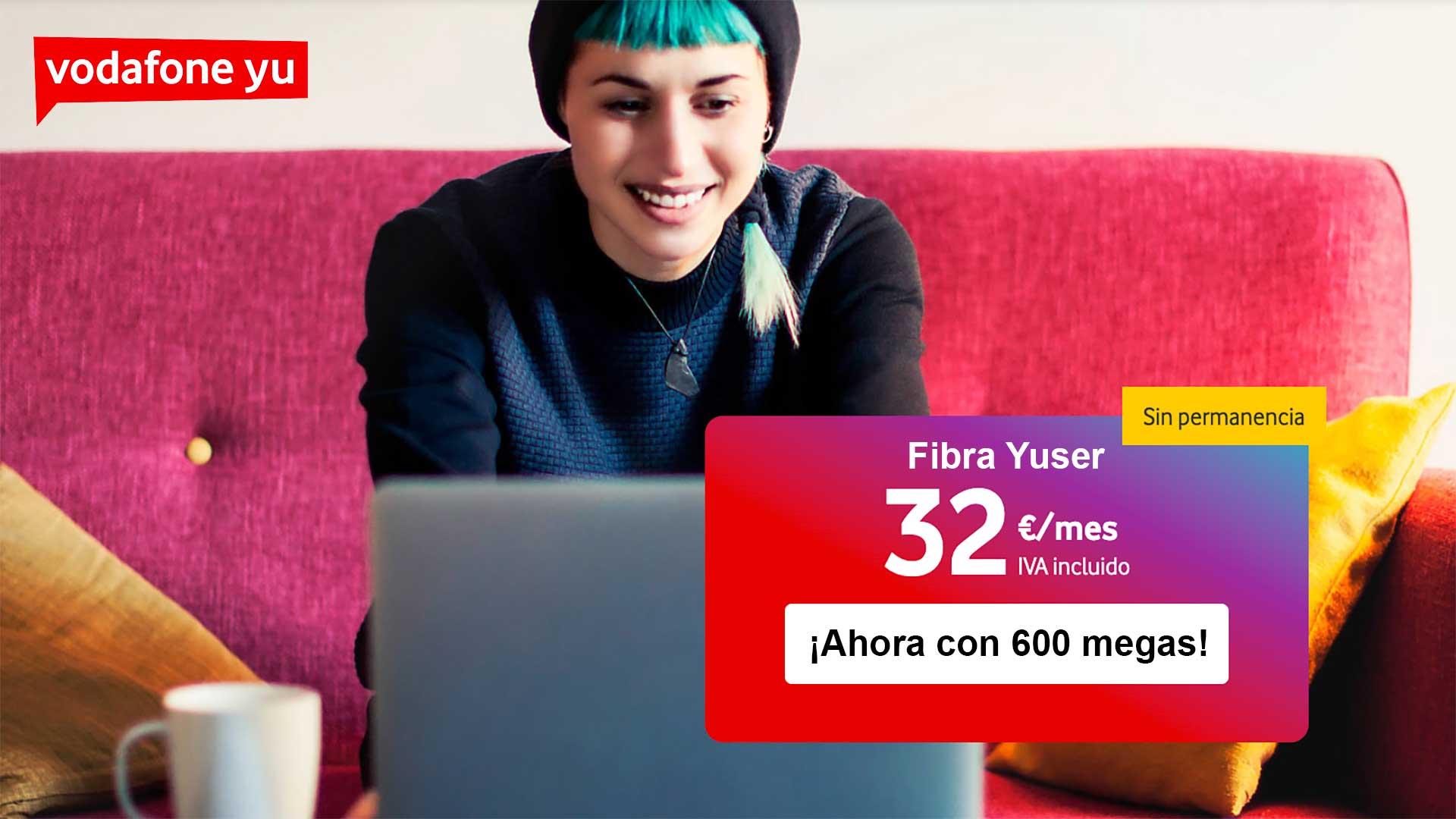 Vodafone oferta fibra estudiantes 2020