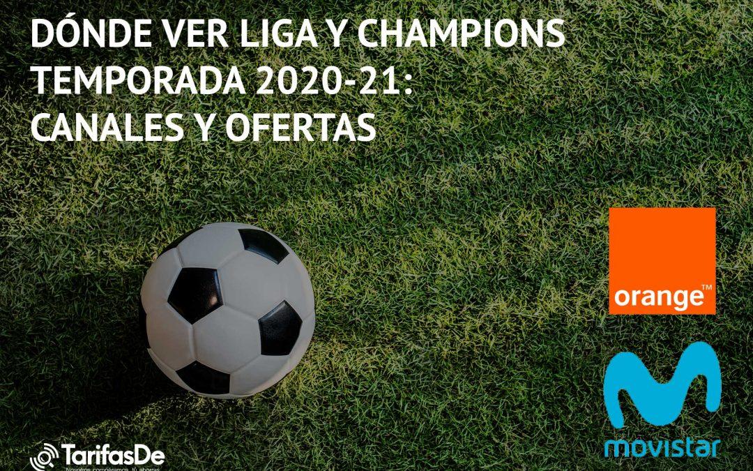 Dónde ver La Liga y Champions en la temporada 2020/21: canales y ofertas
