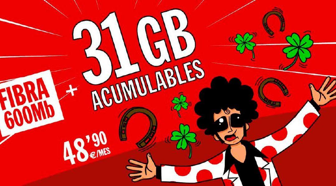 Pepephone Inimitable 31 GB
