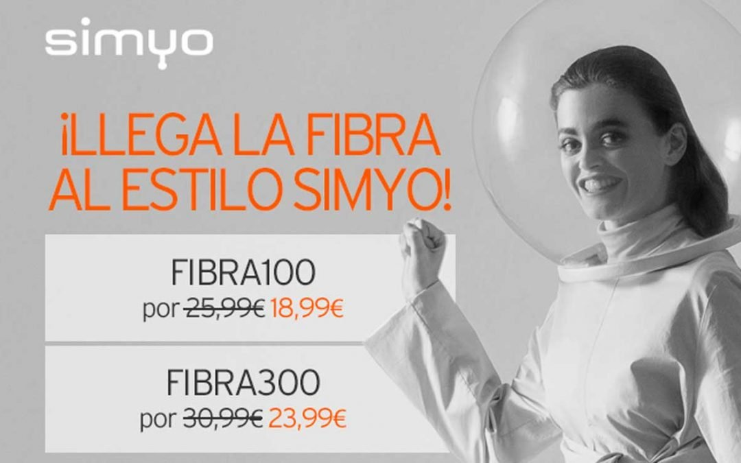 Simyo ya tiene fibra, desde 18,99 euros al mes si se combina con móvil