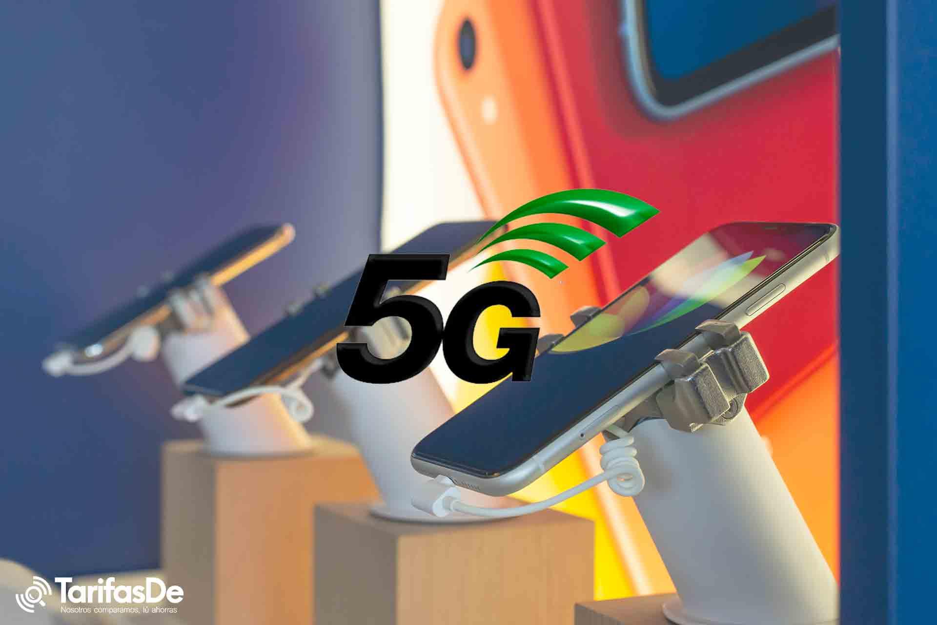Smartphones 5G baratos