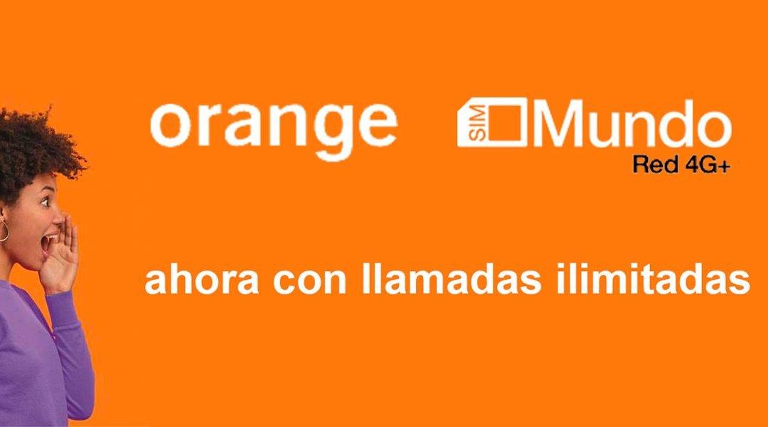 Orange mejora sus tarifa Mundo: llamadas ilimitadas y más gigas