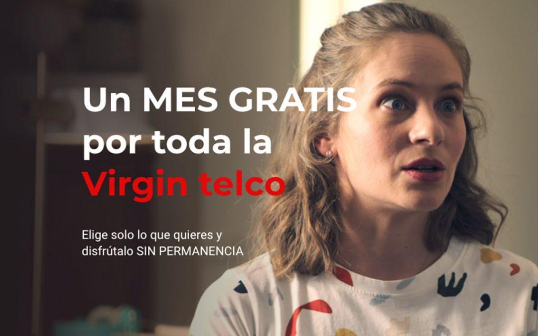 Virgin dobla la apuesta: datos ilimitados hasta 2021 y un mes gratis (sin permanencia)