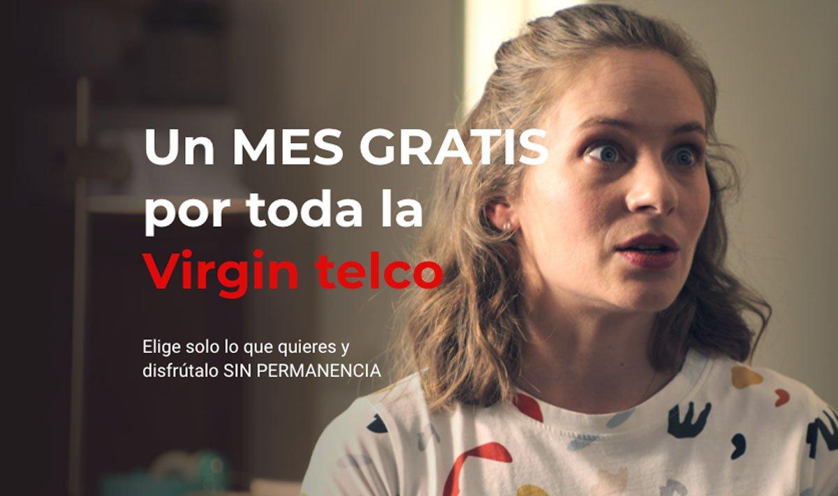 Virgin promo mes gratis