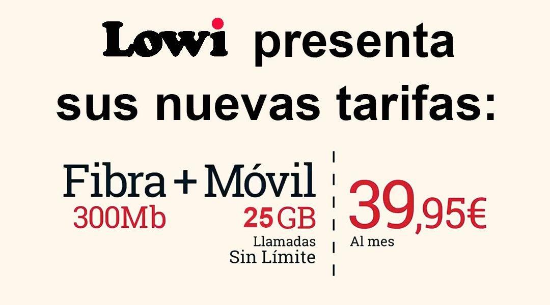 Lowi mejora su oferta móvil y convergente con hasta 8 GB más gratis