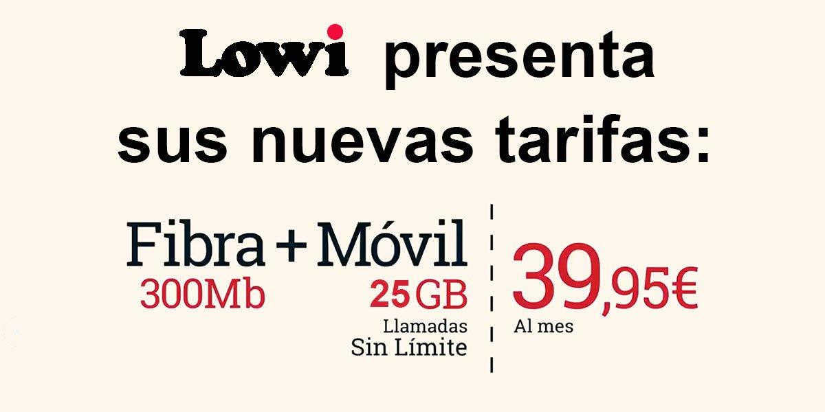 Lowi nuevas tarifas noviembre 2020
