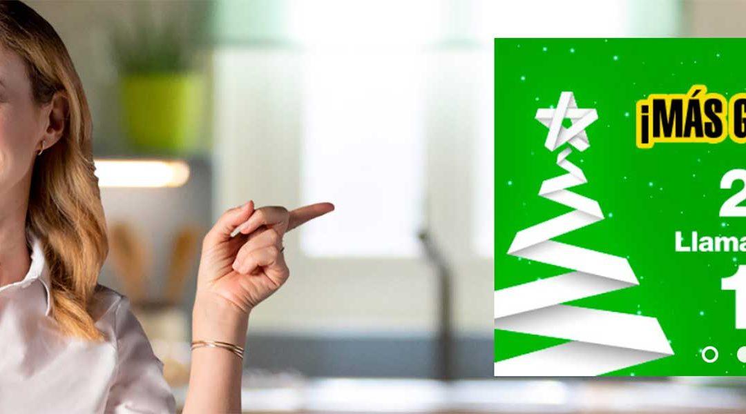 Las tarifas de Amena crecen en gigas por Navidad (y algunas de manera definitiva)