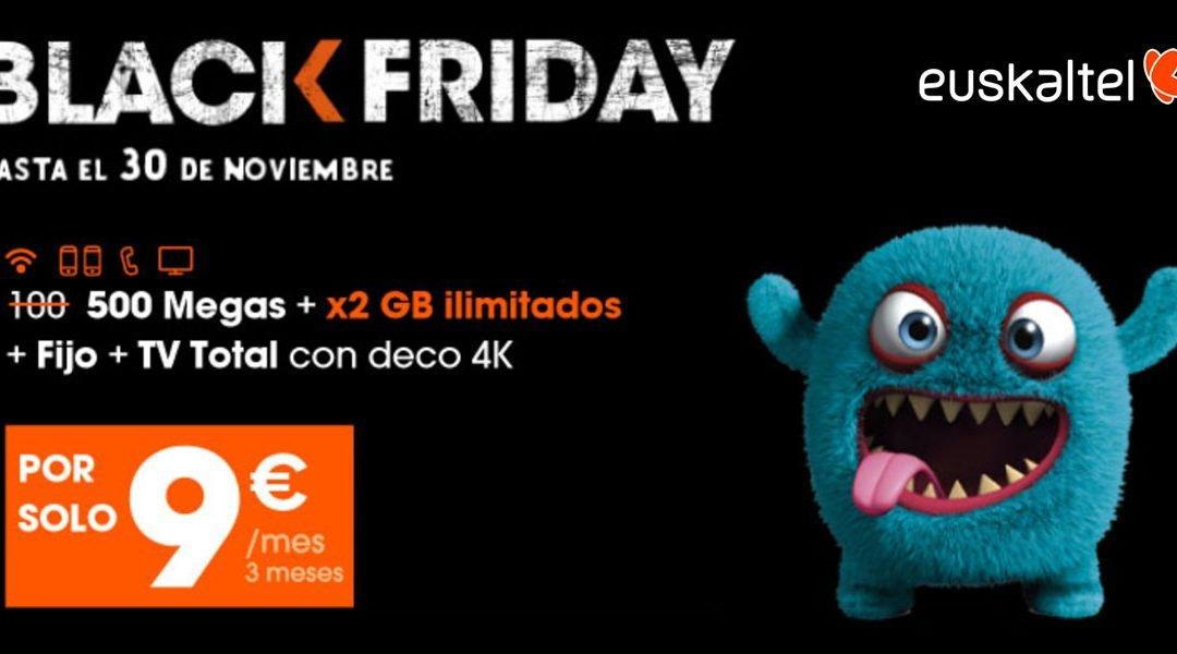 Euskaltel ofertas Black Friday 2020