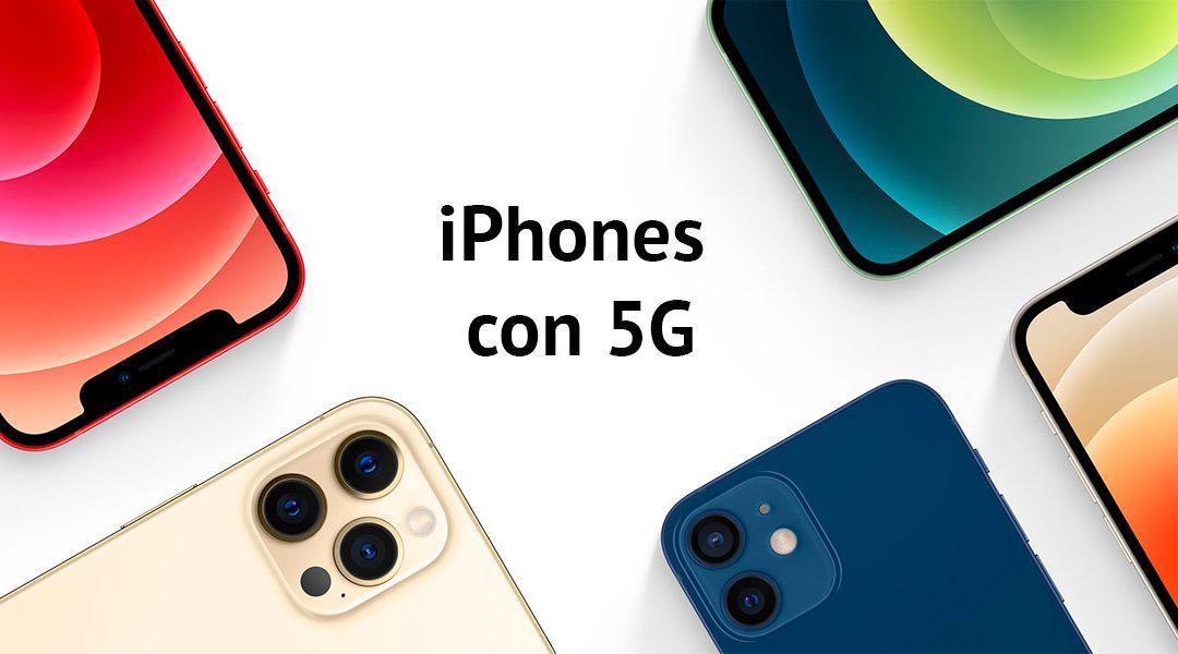 iPhones con 5G, ¿qué modelos son compatibles?