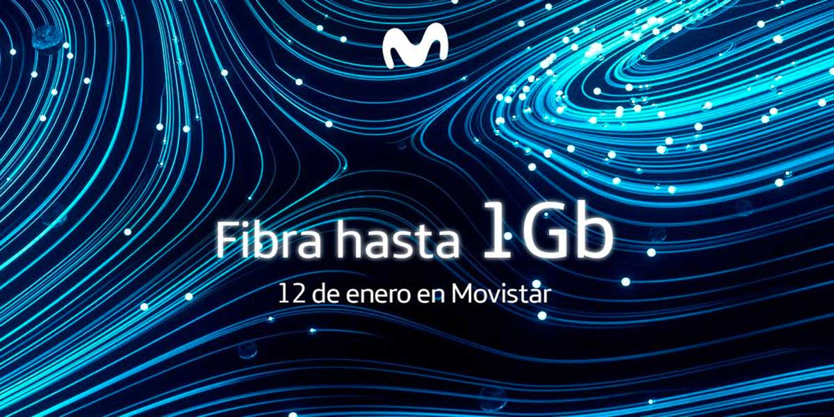 Movistar fibra un giga enero 2020
