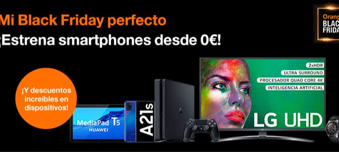 Ofertas Black Friday 2020 Orange