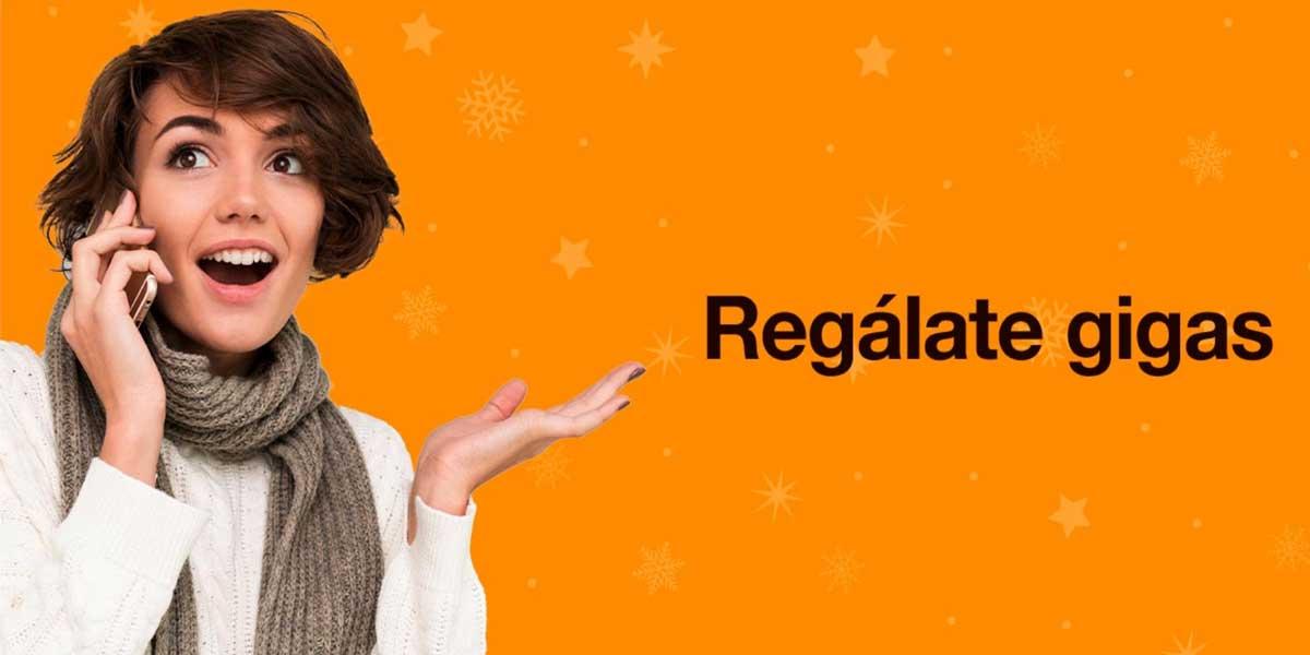 Orange prepago promo navidad 2020