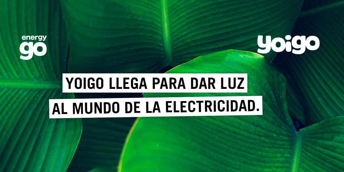 EnergyGO tarifas luz Yoigo