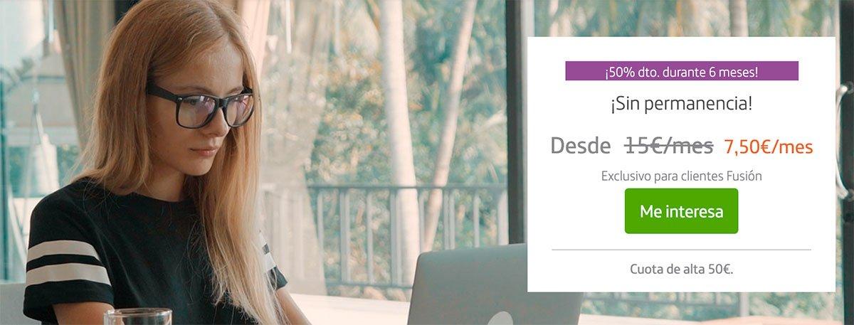 Promoción internet segunda residencia Movistar