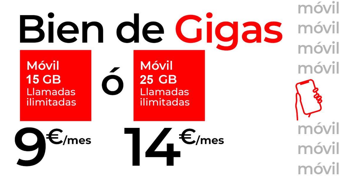 Virgin mejora tarifas enero 2021