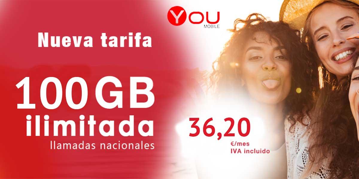 YouMobile nuevas tarifas móviles