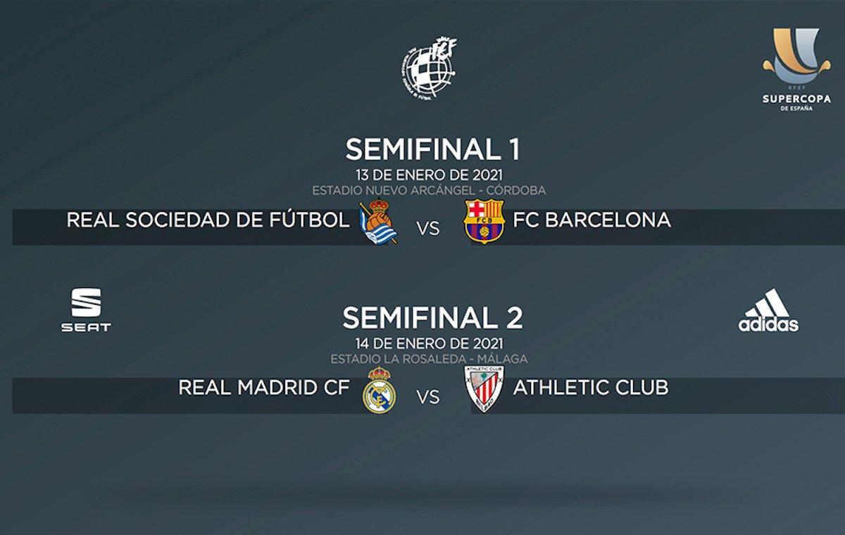 Dónde ver Supercopa España 2021