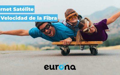 Eurona lanza la conexión por satélite más rápida en España: 100 megas