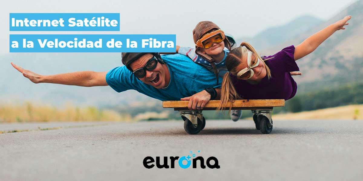 Eurona internet por satélite 100 megas
