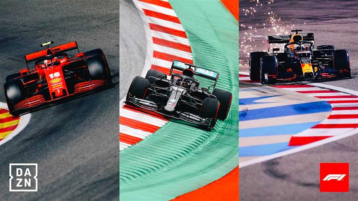 Fórmula 1 en DAZN
