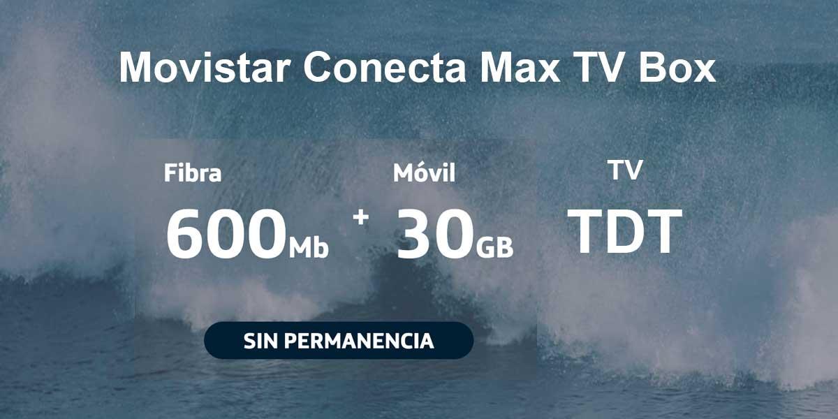 Movistar Conecta Max TV Box qué incluye