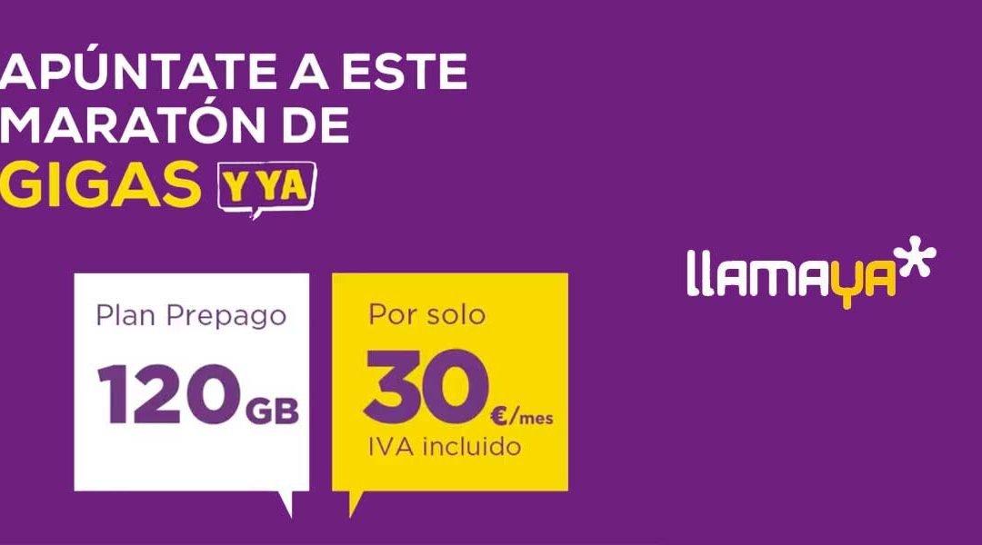 LlamaYa ya tiene su 4G en casa (y además de prepago): 120 GB por 30 euros
