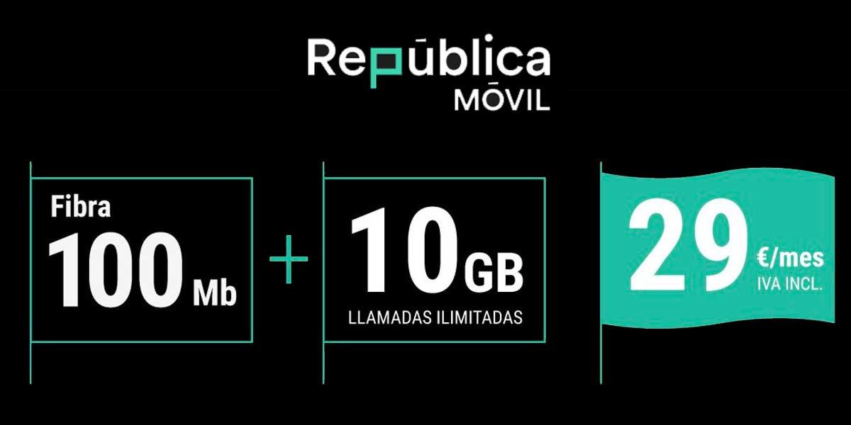 República Móvil nuevas tarifas enero 2021