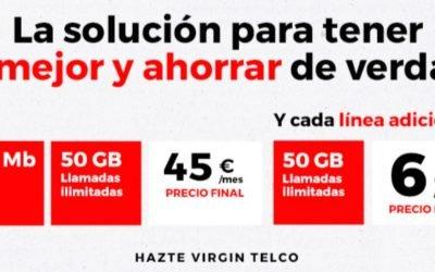 Virgin incorpora la acumulación de gigas no consumidos e impone permanencia en todos los packs