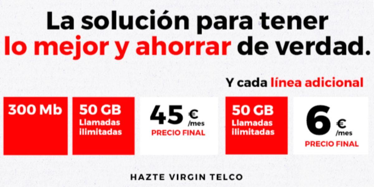 Virgin acumular gigas permanencia nuevas tarifas
