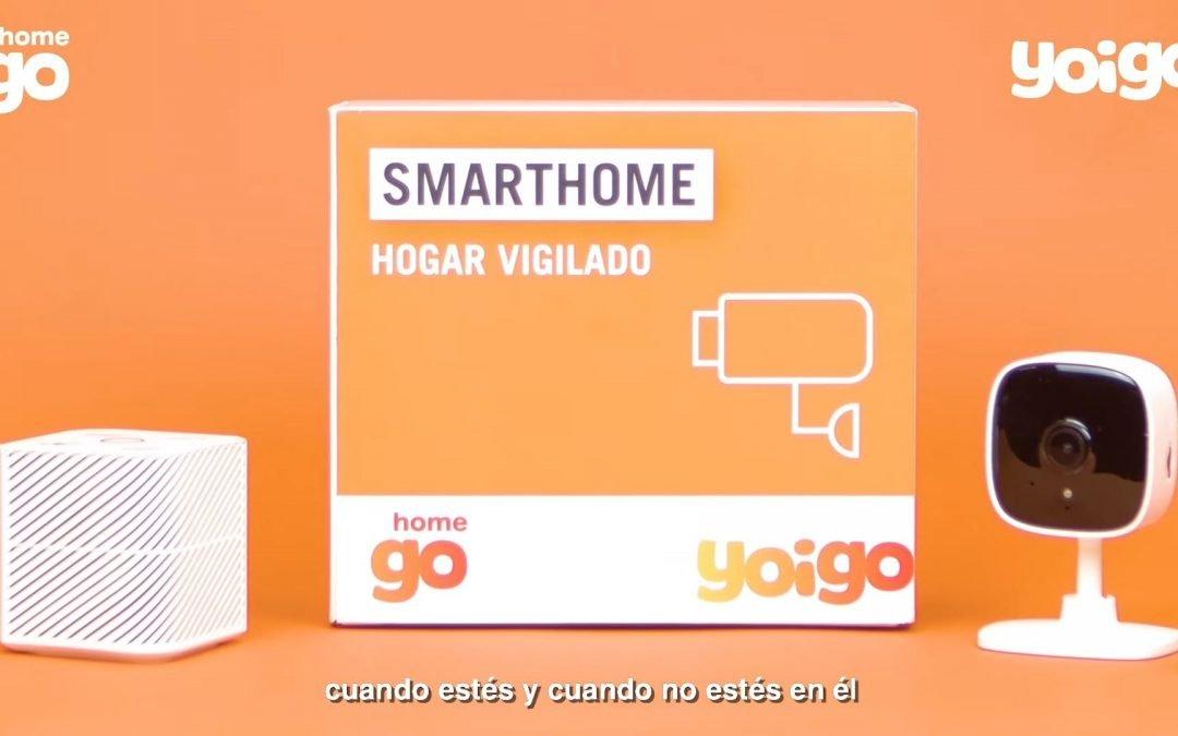 Yoigo Smart Home: la alarma de Yoigo llega con Alexa integrado y avisos por Telegram