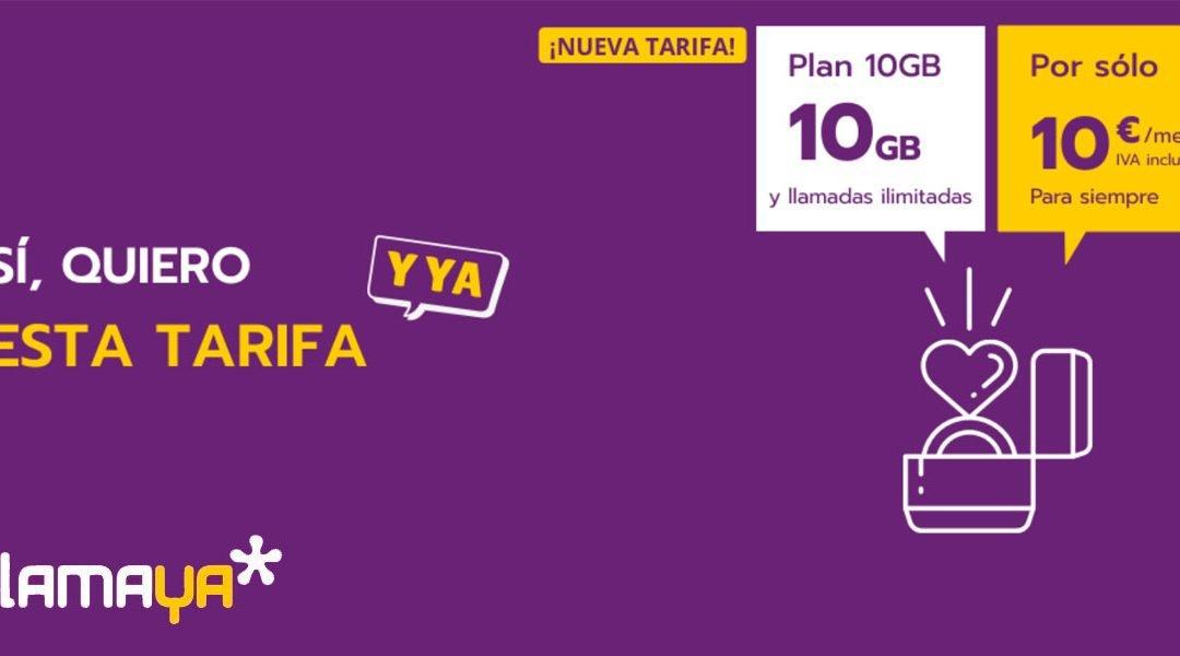 LlamaYa refuerza su oferta de tarifas móviles baratas con más gigas al mismo precio