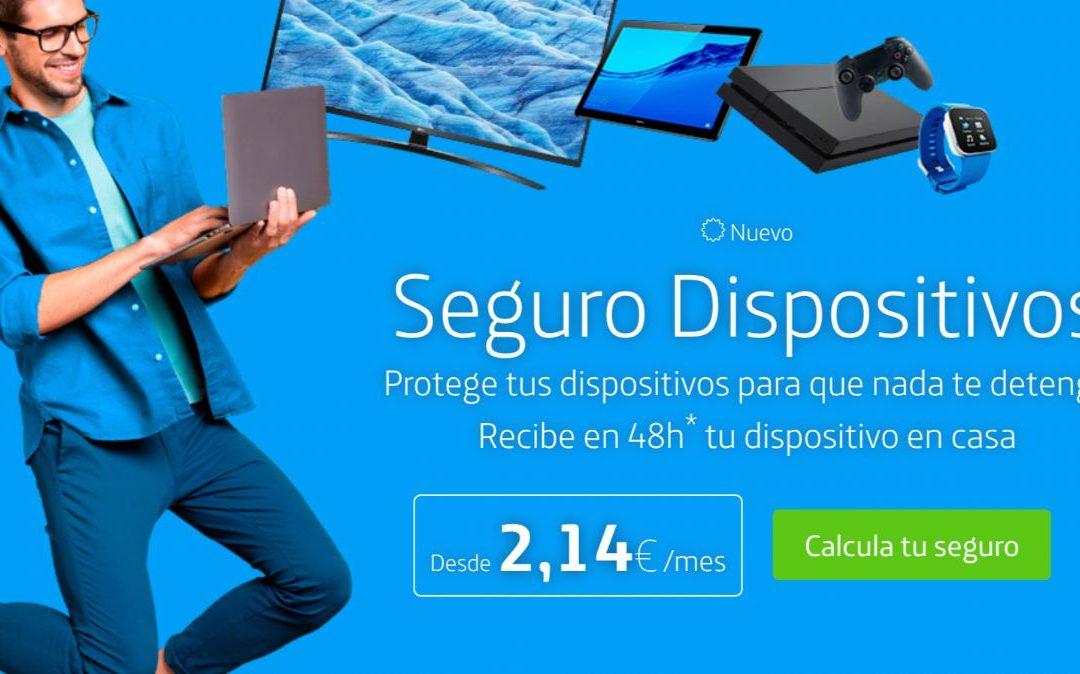 Movistar estrena nuevo seguro para dispositivos electrónicos, desde 2 euros al mes