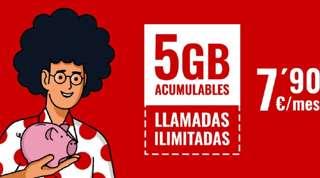 Pepephone refuerza su posición en las tarifas de móvil baratas, con llamadas ilimitadas y 5 GB por 7,90 euros