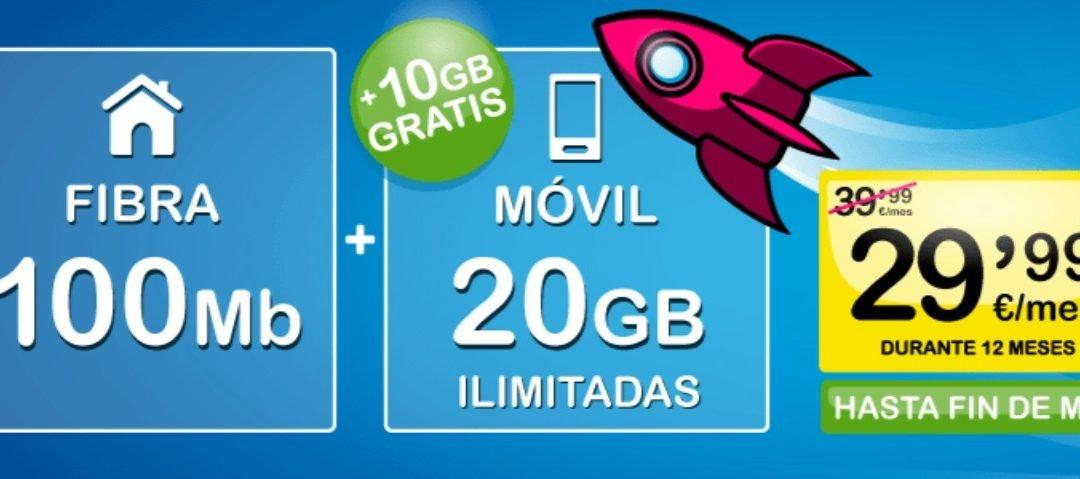 Suop suma gigas gratis a sus packs de fibra y móvil y líneas adicionales