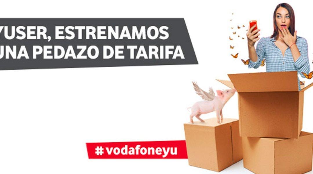 Vodafone yu mejora su oferta, con más gigas en su tarifa más generosa