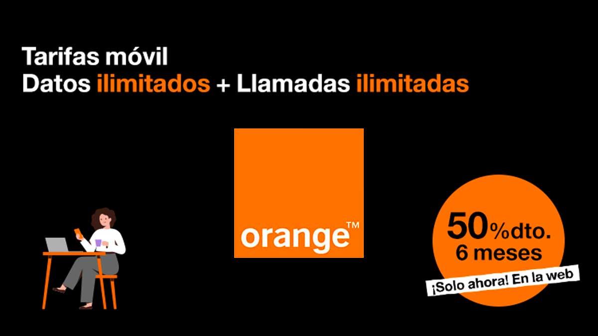 Oferta Orange descuento móviles gratis, marzo 2021