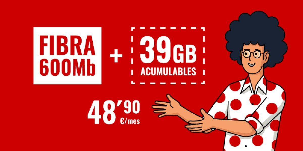 Pepephone Inimitable 39 GB