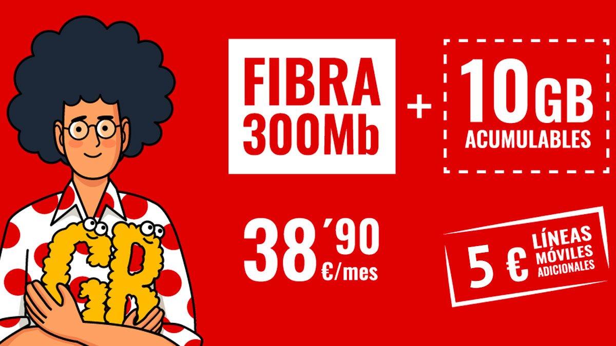 Pepephone líneas adicionales a 5 euros