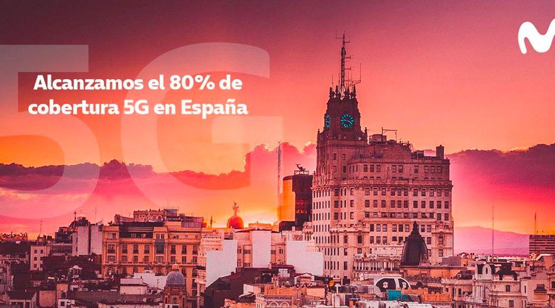 El 5G de Movistar ya llega a todas las poblaciones con al menos 20.000 habitantes