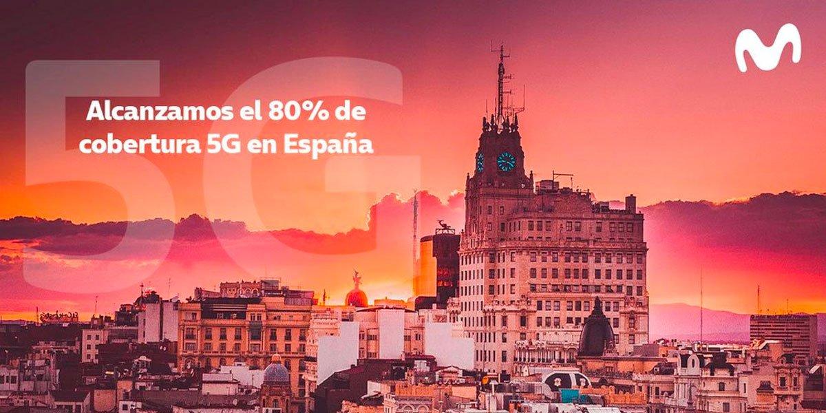 5G Movistar abril 2021