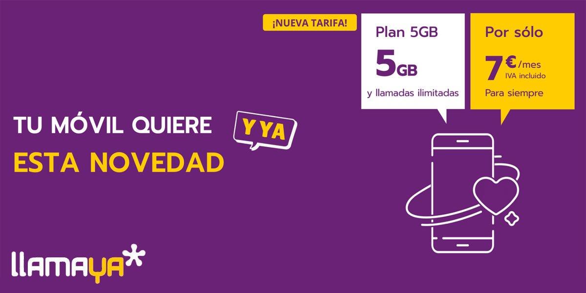 Llamaya tarifas contrato abril 2021