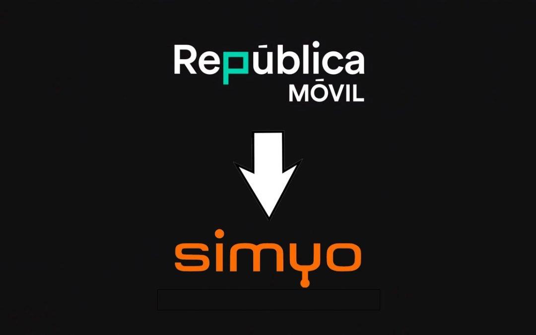 Los clientes de República Móvil pasarán a Simyo: empieza la reducción de marcas de Orange