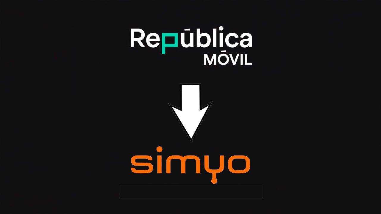 Migración República Móvil Simyo