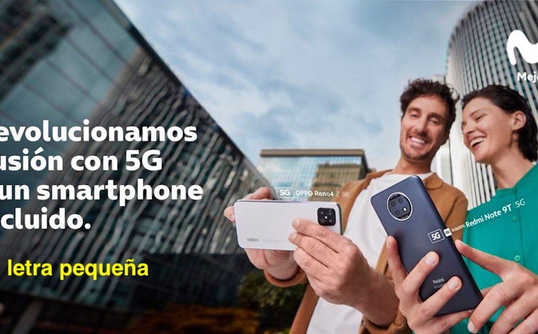 Movistar incluirá smartphones en todas las Fusiones, a cambio de tres euros más