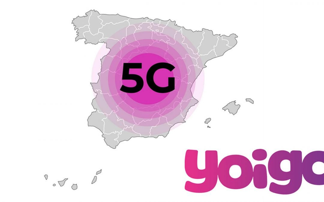 Yoigo extiende su cobertura 5G a más de 200 ciudades