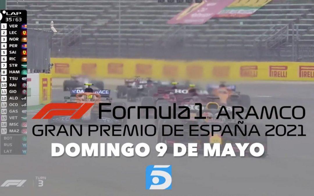 Fórmula 1 gratis: el GP de España se verá en abierto en Telecinco